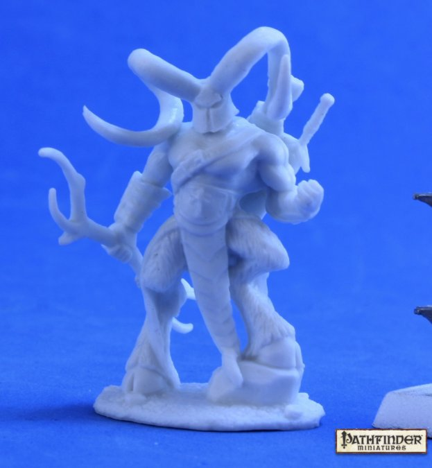 The Horned Hunter: Pathfinder Bones RPR 89033