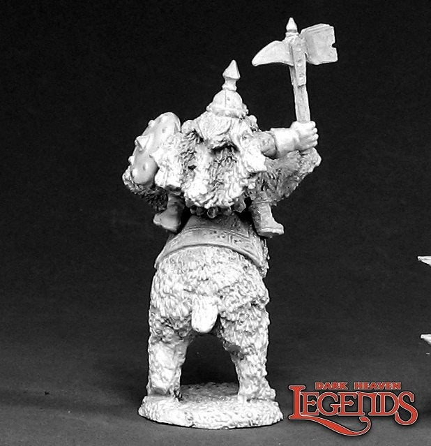 Dwarven Bear Cavalry: Dark Heaven Legends RPR 02385