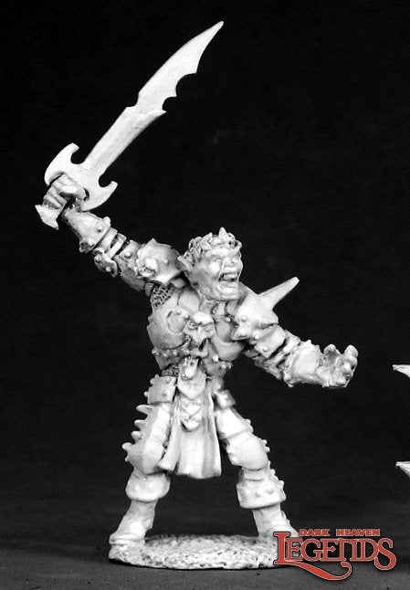 Gragg Elfslayer Orc: Dark Heaven Legends RPR 02431
