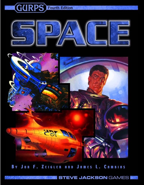 GURPS Space (Softcover) SJG 01-1002