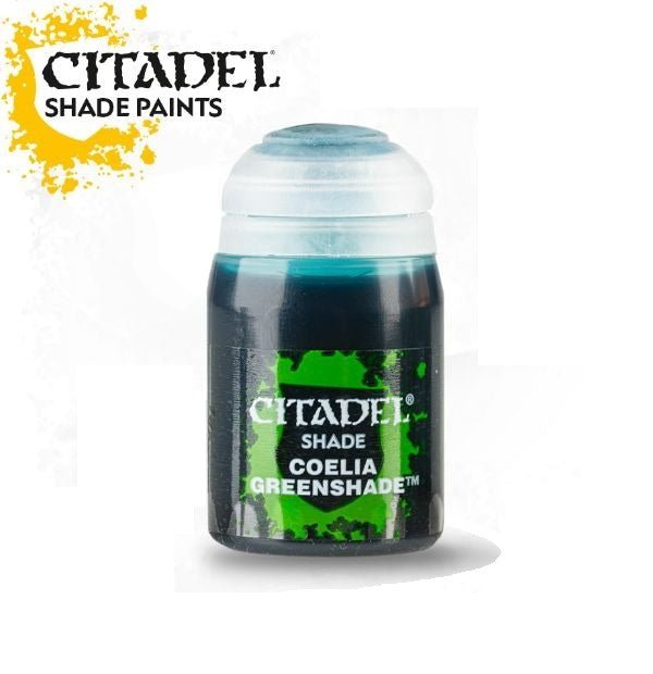 Coelia Greenshade (24ml): Citadel Shade Paints GAW 24-22-S