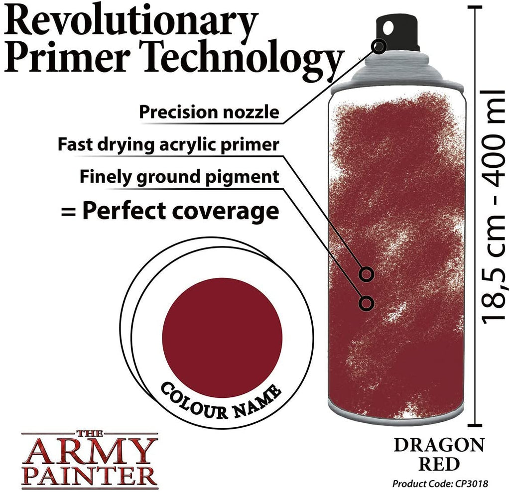 Dragon Red : Colour Primers TAP CP3018