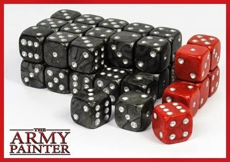 Wargaming Dice: Black TAP TL5019