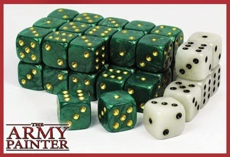 Wargaming Dice: Green TAP TL5021