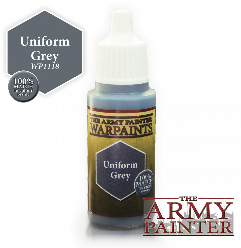 Uniform Grey: Acrylics Warpaints TAP WP1118
