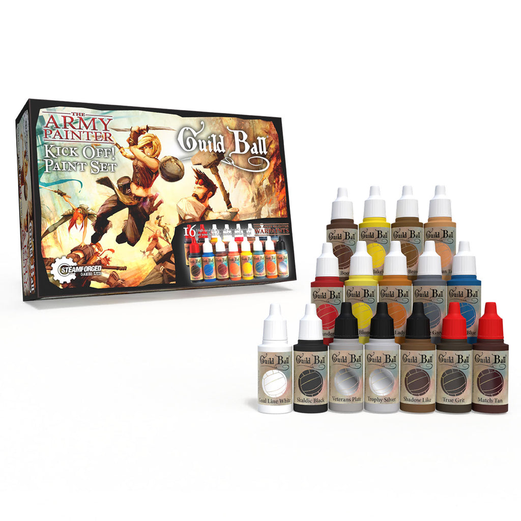 Guild Ball - Kickoff! Paint Set: License Warpaints TAP WP8024