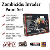Zombicide: Invader Paint Set: Zombicide Warpaints TAP WP8034