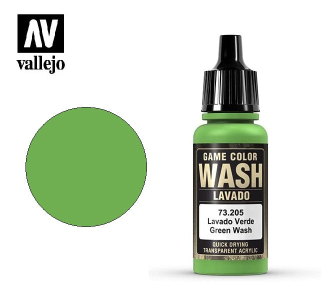 Green Wash (17ml): Game Color VAL 73205