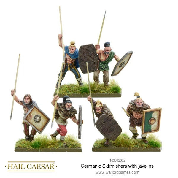 Germanic Skirmishers with Javelins: Hail Caesar WLG 103012002