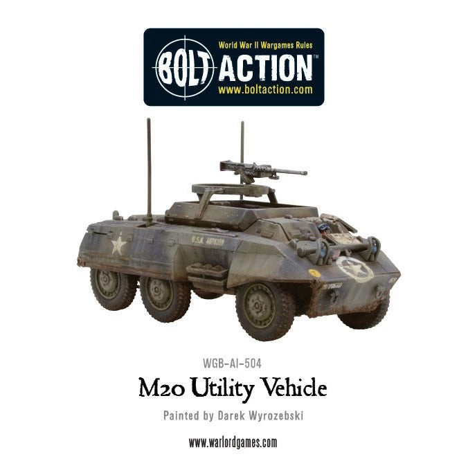 M8/M20 Greyhound Scout Car: Bolt Action WLG 402013005