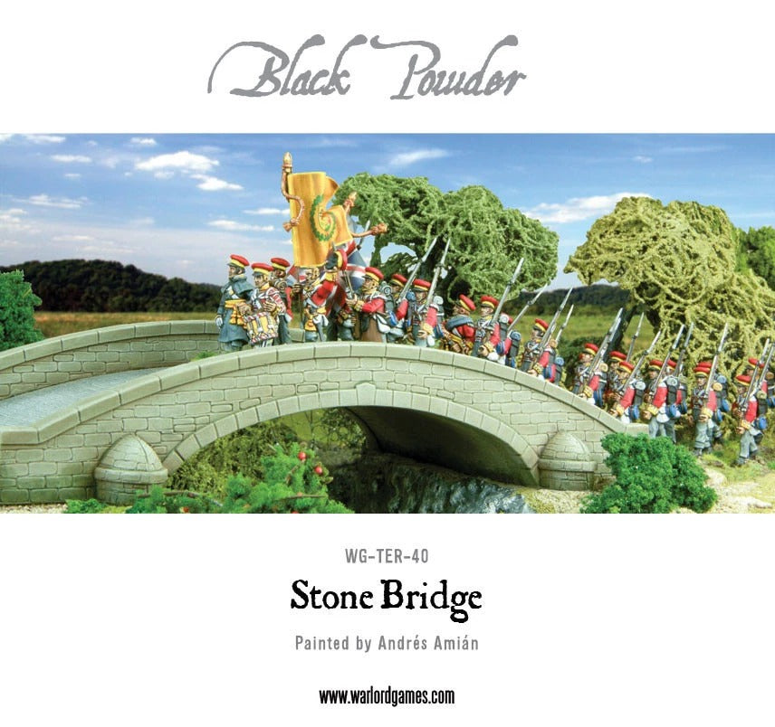 Stone Bridge Plastic Boxed Set: Black Powder WLG WG-TER-40