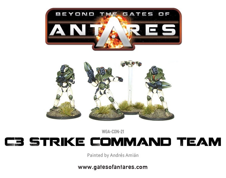 Concord Strike Command Team: Beyond the Gates of Antares WLG WGA-CON-21