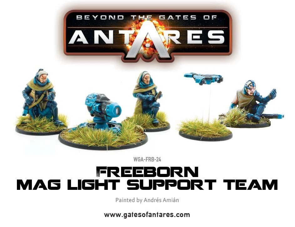 Freeborn Support Team with Mag Light Support: Beyond the Gates of Antares WLG WGA-FRB-24