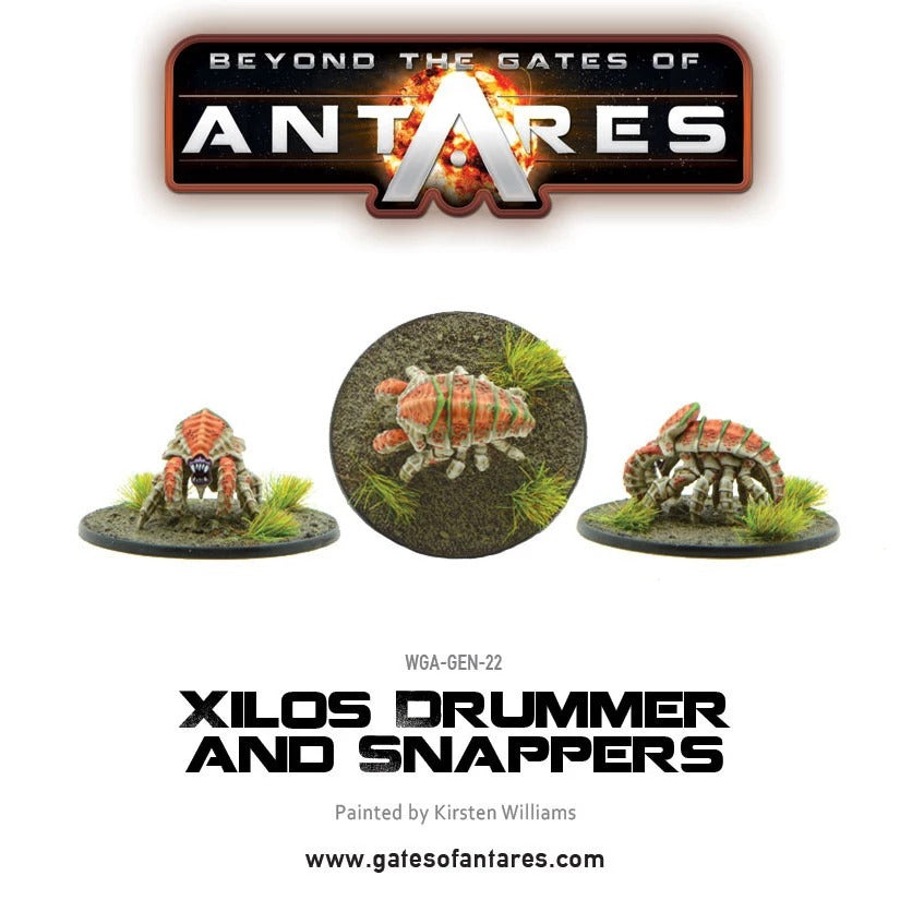 Xilos Drummer and Snappers: Beyond the Gates of Antares WLG WGA-GEN-22