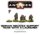 Isorian Senatex Support Team with X-Launcher: Beyond the Gates of Antares WLG WGA-ISO-24