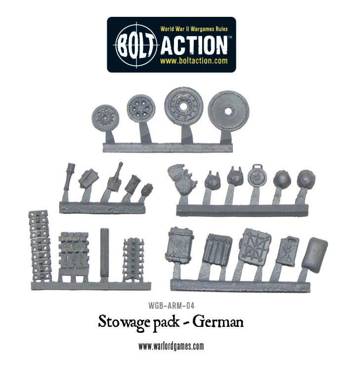 Stowage Pack - German : Bolt Action WLG WGB-ACC-007