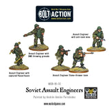 Soviet Assault Engineer Squad: Bolt Action WLG WGB-RI-30