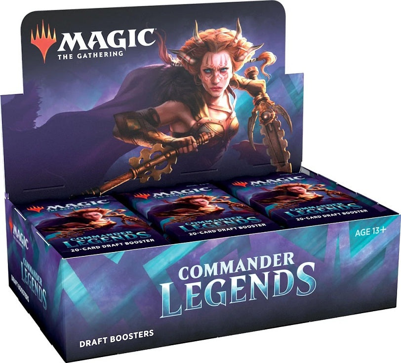 Magic the Gathering CCG: Commander Legends Draft Booster Display (24)