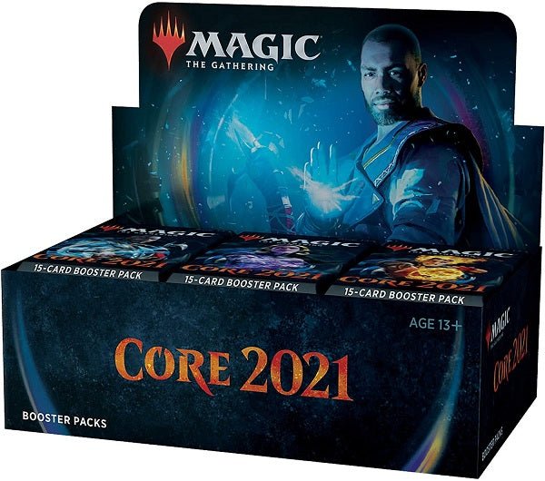 Magic the Gathering CCG: Core 2021 Booster Display WOC C75030000