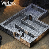 Dungeon Tiles I: WarLock Tiles - WizKids 4D Settings WZK 16501