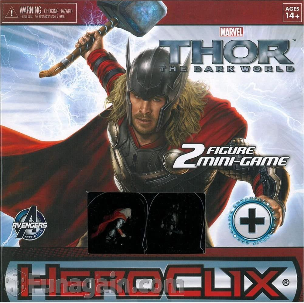 Thor - The Dark World Movie Mini Game: Marvel HeroClix WZK 71078