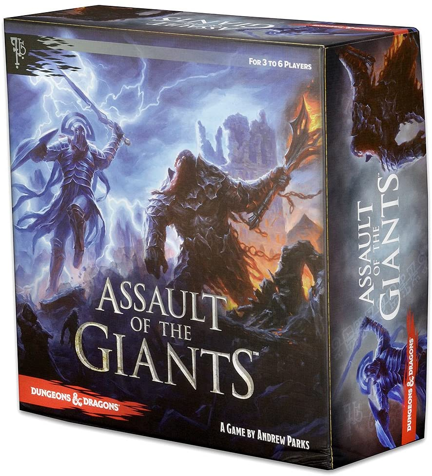 D&D Assault of the Giants Board Game: Board Games - Strategy Games WZK 72185