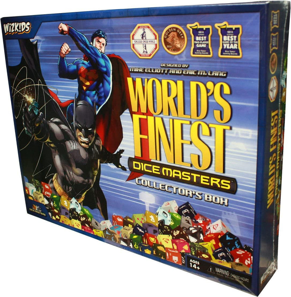 World's Finest Collectors Box: DC Comics Dice Masters WZK 72241