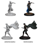 Elf Female Rogue: Pathfinder Battles Deep Cuts WZK 73187