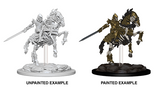 Skeleton Knight on Horse: Pathfinder Battles Deep Cuts WZK 73359