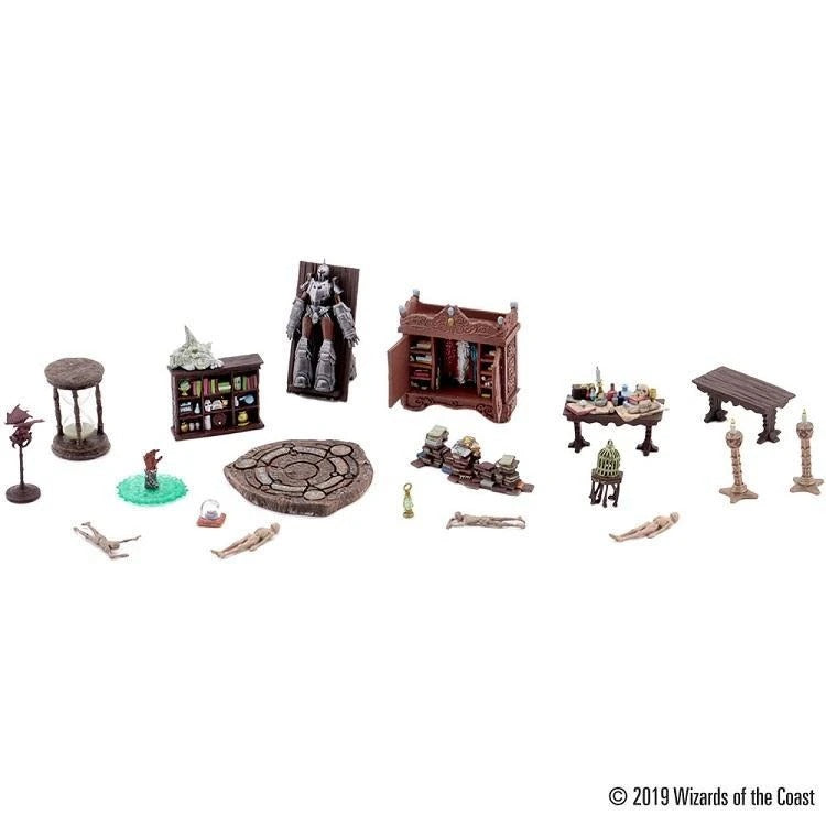 Waterdeep: Dungeon of the Made Mage - Halaster's Lab Set (Set 11 ) : D&D Icons of the Realms WZK 73529
