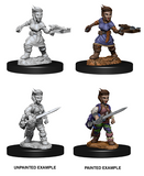 Halfling Female Rogue: Pathfinder Battles Deep Cuts WZK 73695