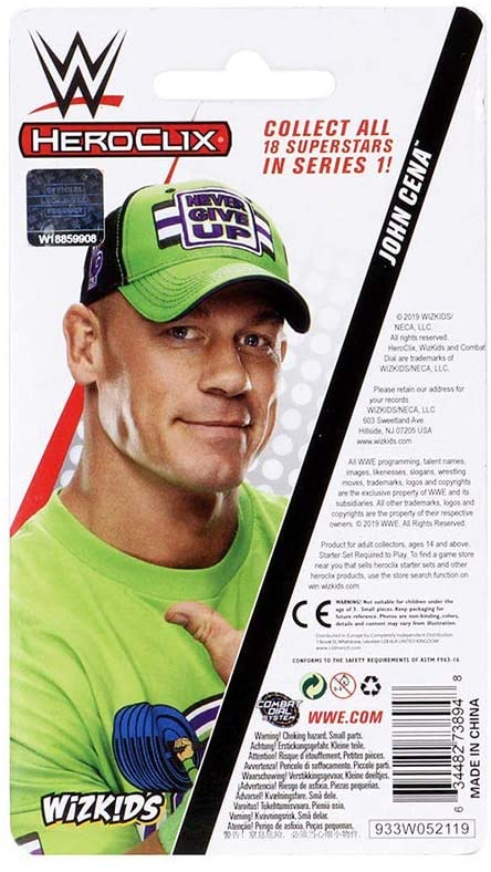 John Cena Expansion Pack: WWE HeroClix WZK 73894