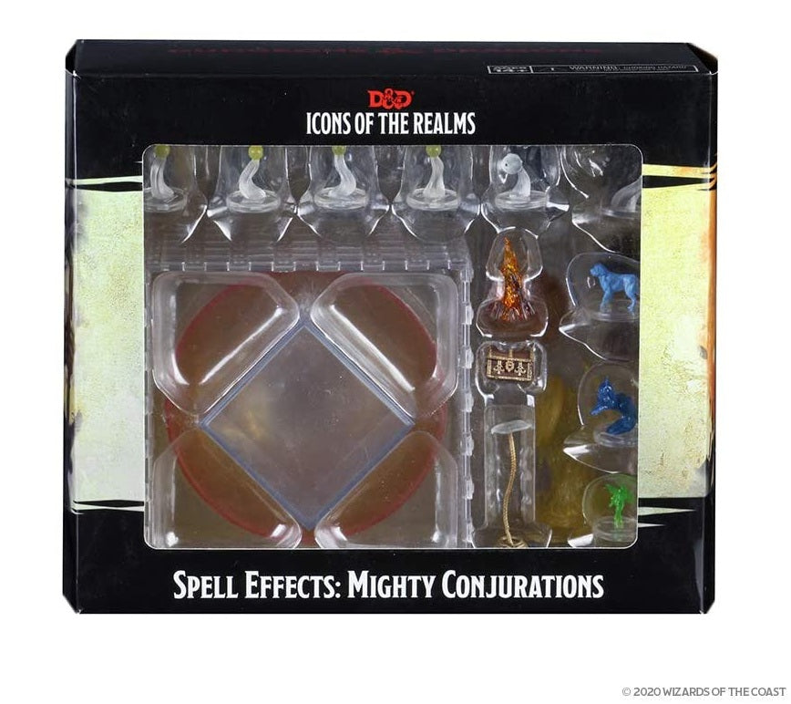 Spell Effects - Mighty Conjuratio: D&D Icons of the Realms WZK 96012
