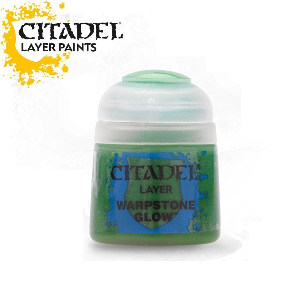 Warpstone Glow: Citadel Layer Paints GAW 22-23-S