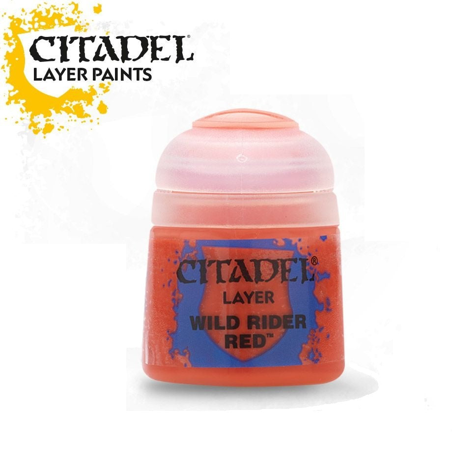 Wild Rider Red: Citadel Layer Paints GAW 22-06-S
