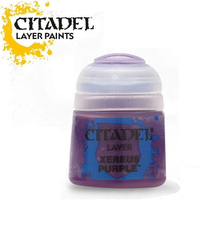 Xereus Purple: Citadel Layer Paints GAW 22-09-S