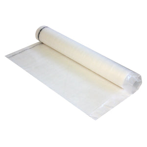 BronzeStep Foam Underlayment w/ Film, Tape & Flap - 100 sq ft Rolls