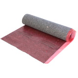 GoldStep Fiber Underlayment w/ Film, Tape & Flap - 100 sq ft Rolls