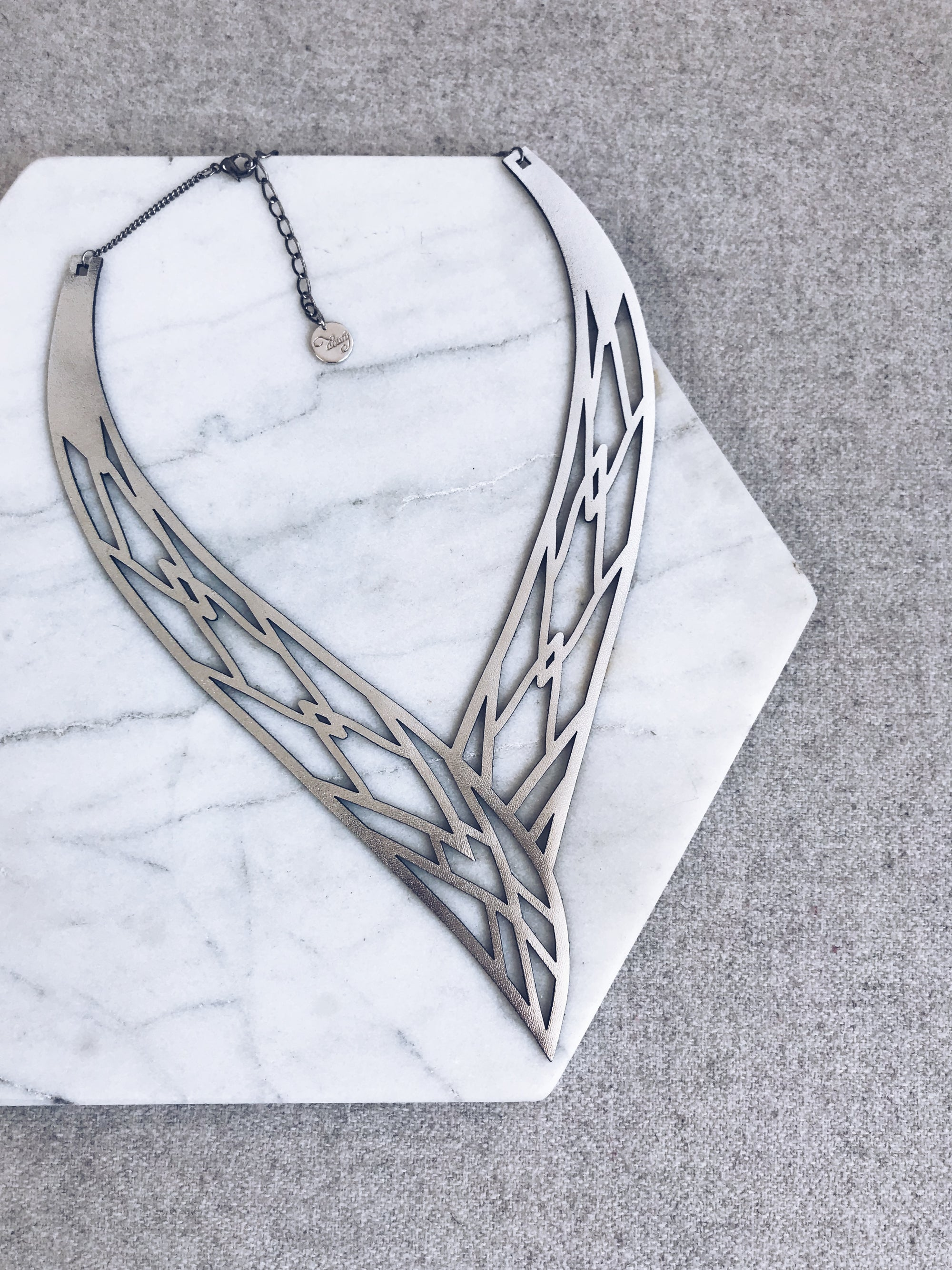 Mamba Necklace Silver