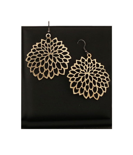 Camellia Earrings Gold