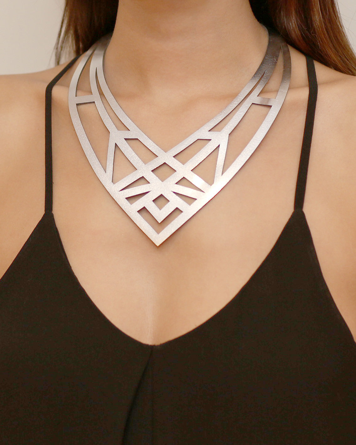 Cleo Necklace Silver