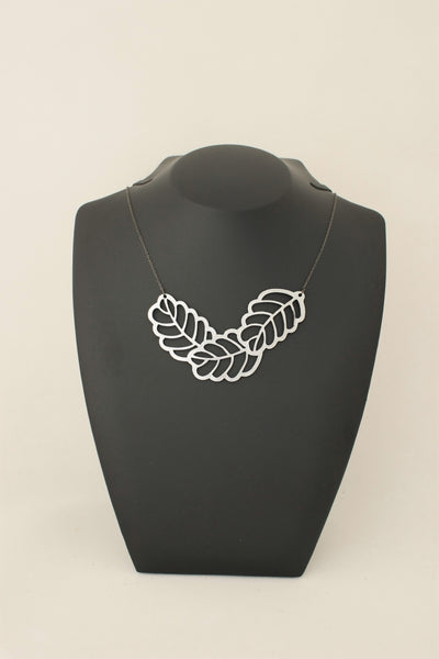 Fern Necklace Silver