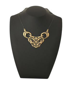 Tigerlily Necklace Gold