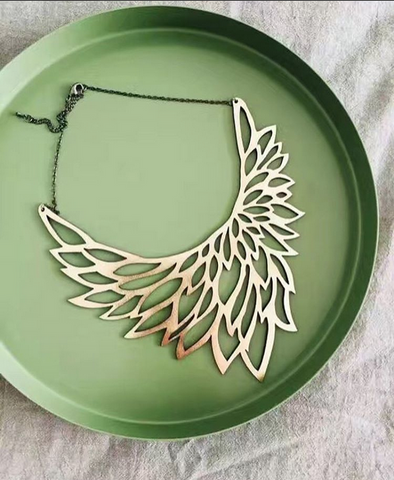 Phoenix Necklace Gold