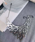 Phoenix Necklace Silver
