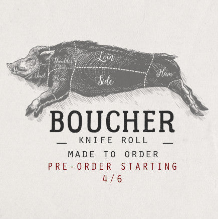 BOUCHER KNIFE ROLL