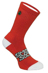 Smokey Socks - Clean - Red