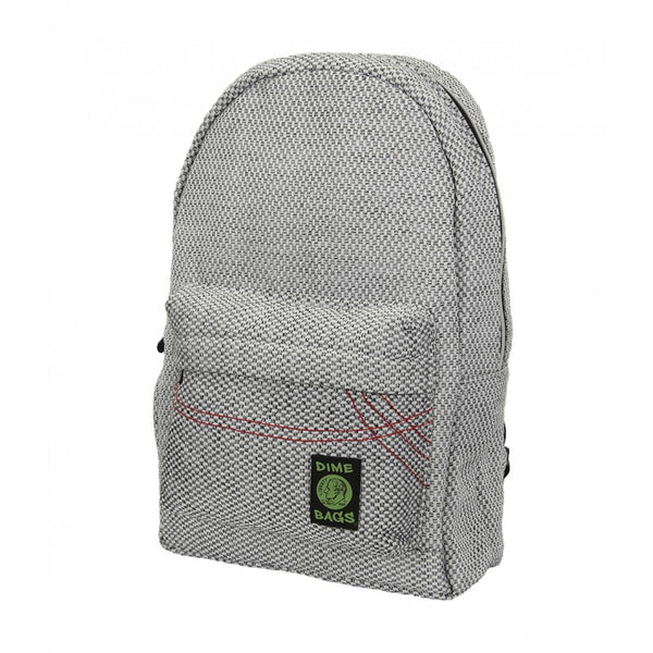 "Dime Bags 17"" Studdy Buddy Backpack-Silver"
