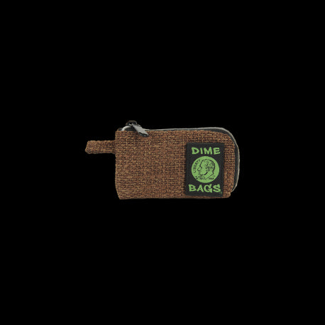 "Dime Bags 5"" Padded Pouch-BROWN"