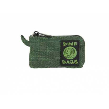 "Dime Bags 5"" Padded Pouch-GREEN"